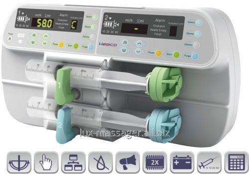 Двушприцевой инфузионный насос SN-50F6, артикул HK028