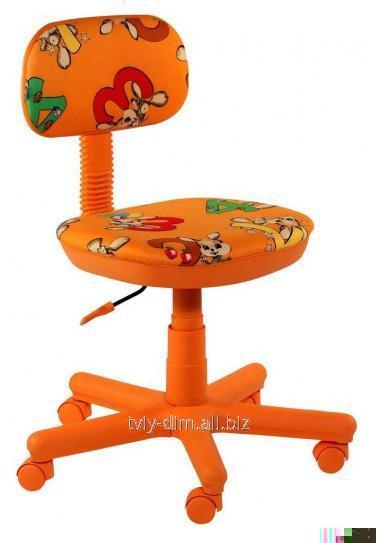 Детское кресло AMF Свити оранжевый Зайцы оранжевые