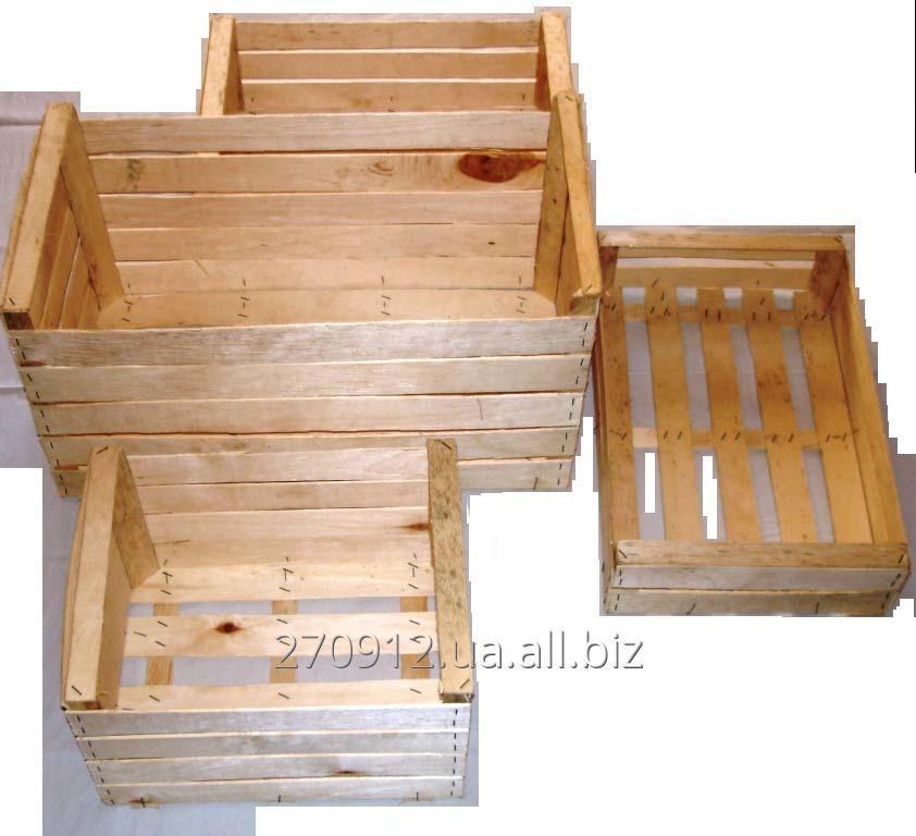Тарный ящик из дерева