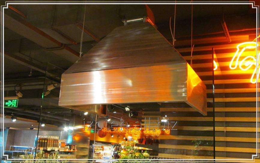 Buy Umbrella exhaust island (type 1) from stainless or galvanized steel