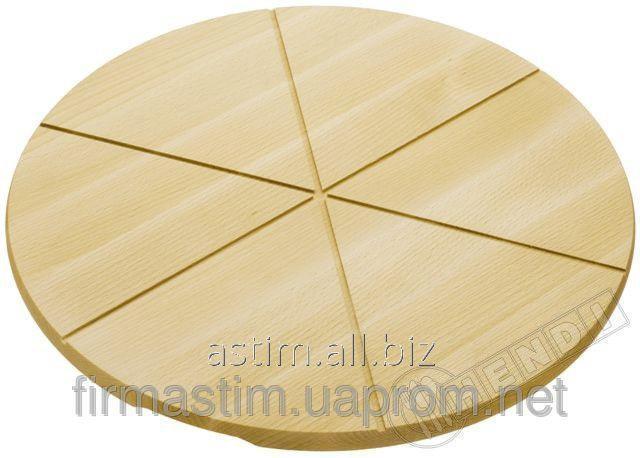 Доска для пиццы деревянная Ø 300 999175