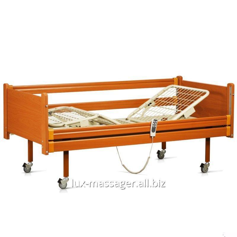 Кровать деревянная функциональная с электроприводом, артикул OSD-91Е