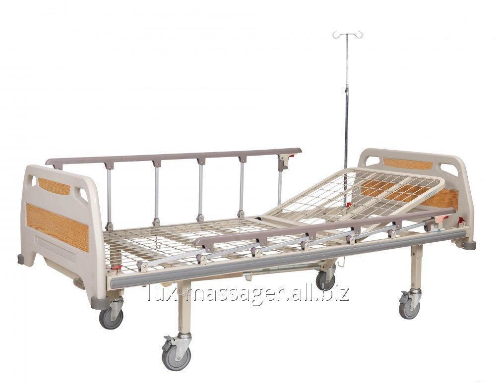 Кровать медицинская механическая, 2 секции, артикул OSD-93С