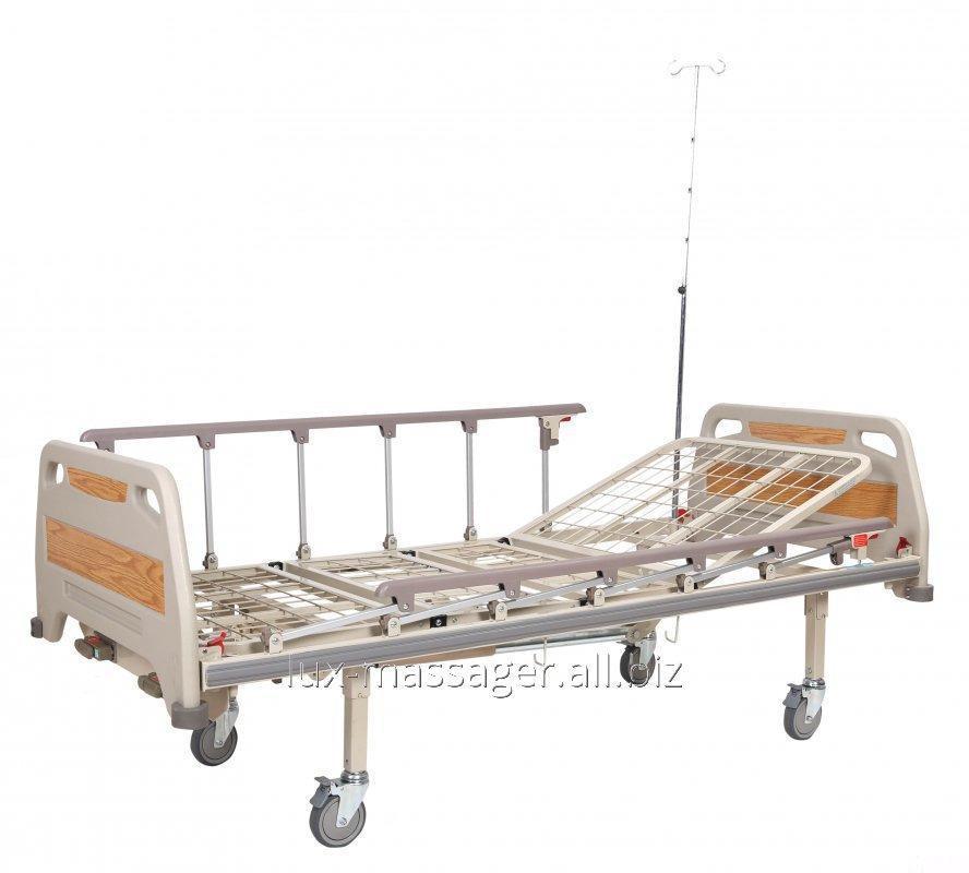 Кровать медицинская механическая, 4 секции, артикул OSD-94С