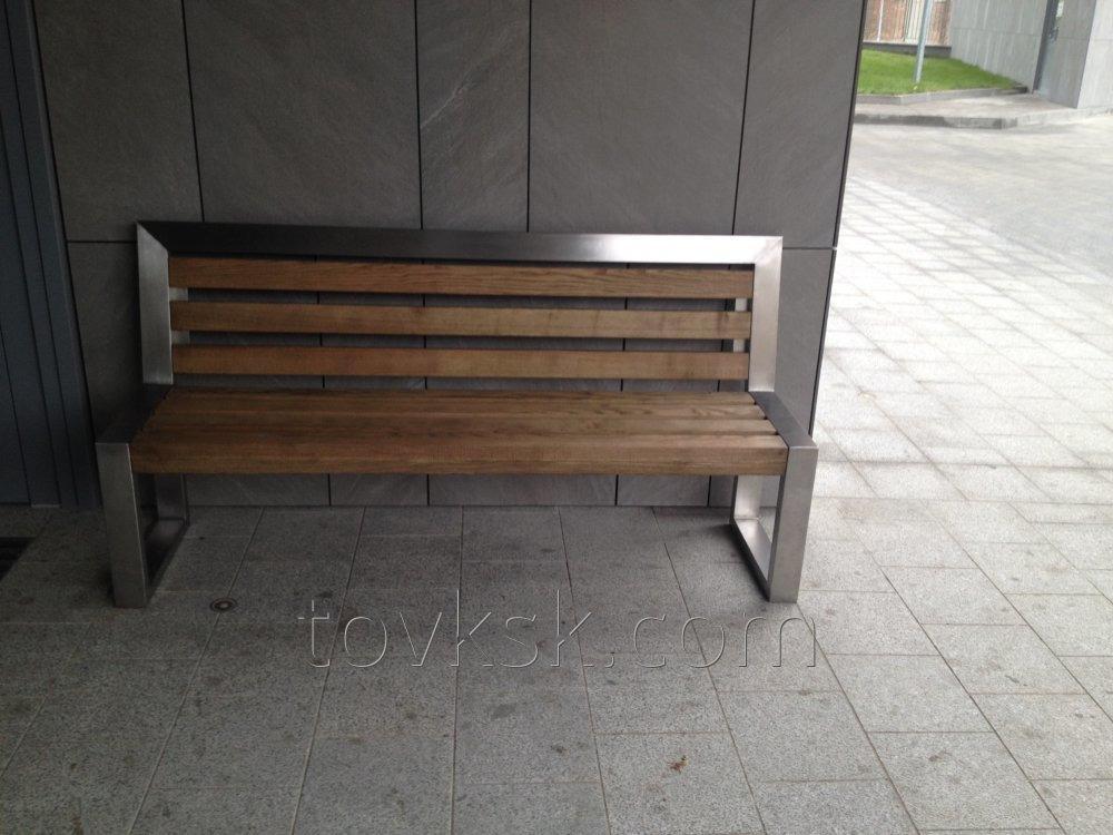 Уличная парковая скамейка 1800х900, код товара A13017
