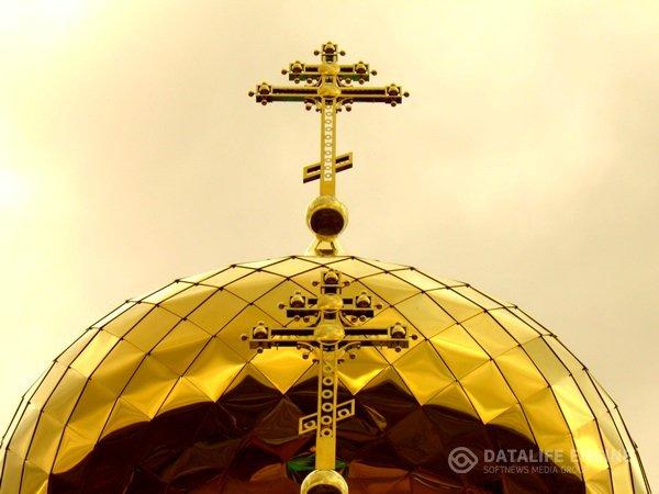 """Купола церквей православные, нержавеющая сталь с покрытием нитридом титана (покрытие """"под золото"""")"""