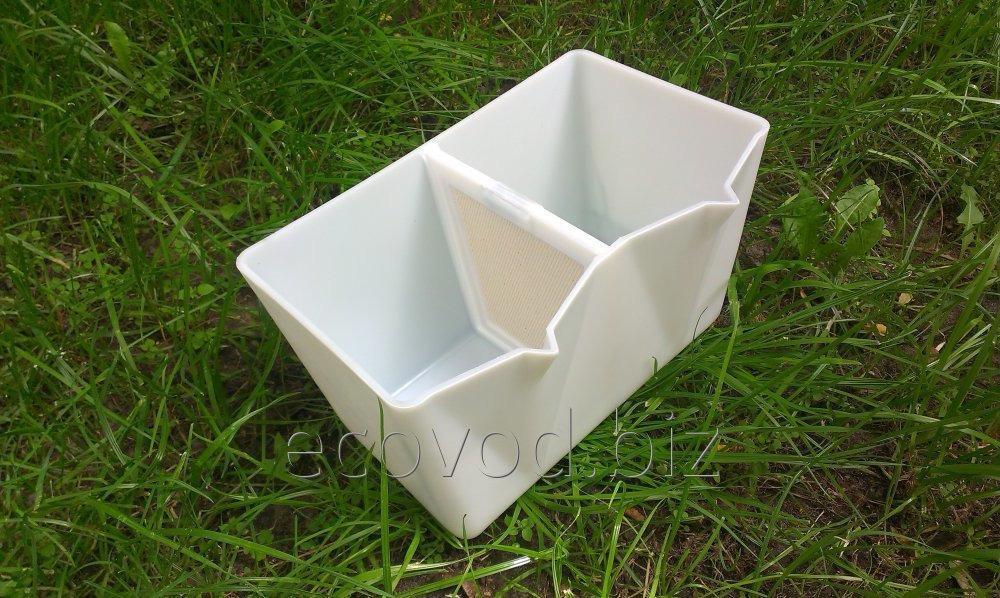 Нижний корпус (бачок) для очистителя воды Эковод ЭАВ-3 .