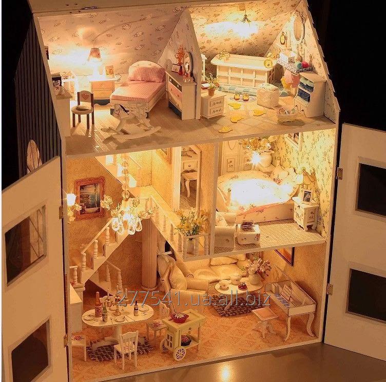 Сделать свет в кукольном домике своими руками