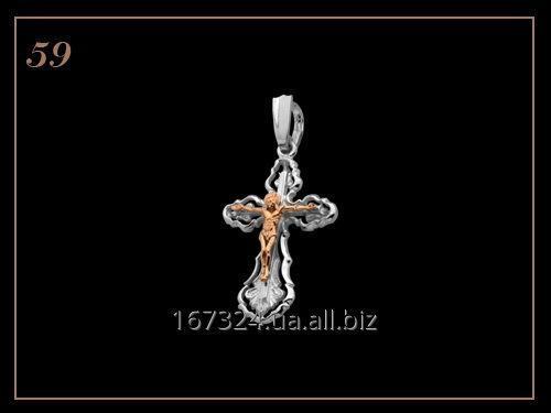 Крестик ювелирный