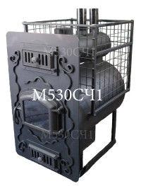 Печь банная парАвоз М530СЧ1