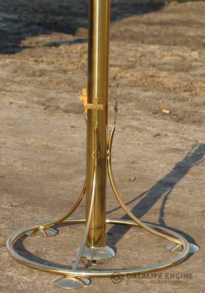 Подсвечники церковные из металла с покрытием под золото