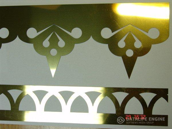 Church decoration in gold