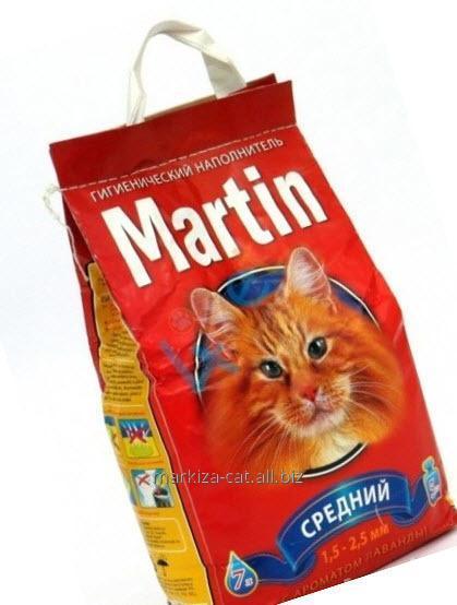 Гигиенический наполнитель Martin средний (1,5-2,5 мм) с ароматом лаванды