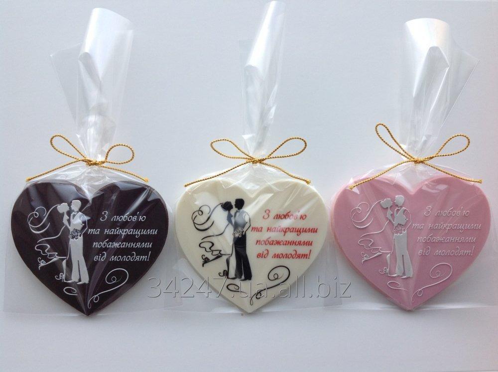 Шоколадні подарунки гостям весілля d860d51197779