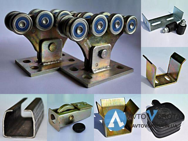 Купить ROLLING HI-TECH 400М Комплект усиленной фурнитуры для откатных ворот, 400кг Комплект с трубой 6 метров