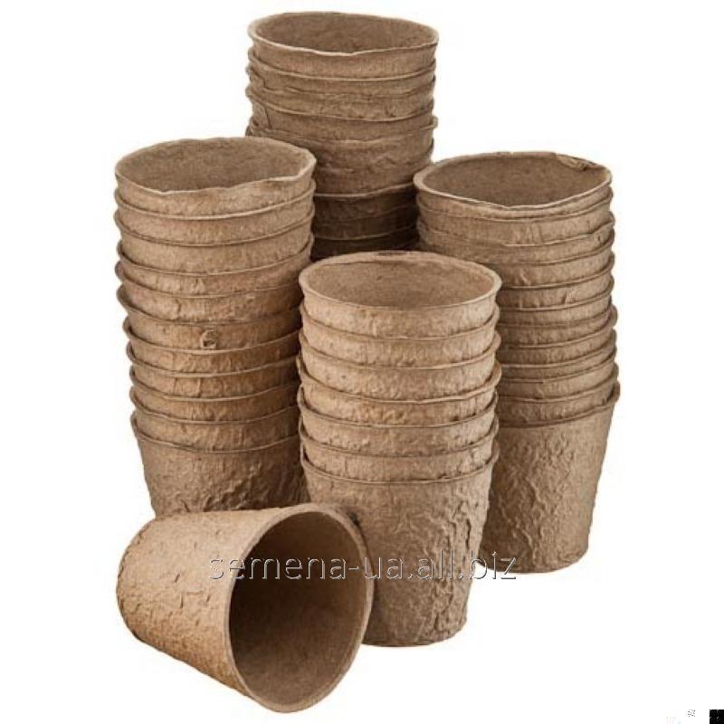 Торфяные горшки для выращивания рассады, Артикул УТ000001417