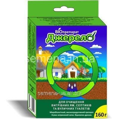 Биопрепарат Джерело для очищения выгребных ям, септиков и уличных туалетов, Артикул УТ000001532