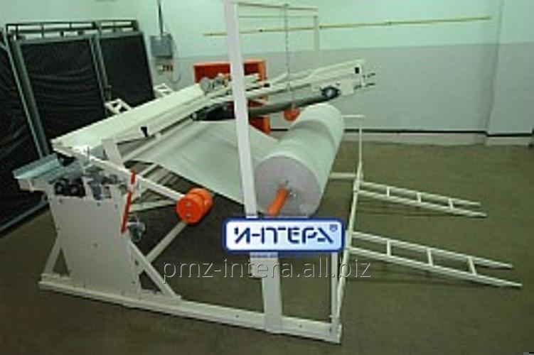Станок для перемотки основы туалетной бумаги в логи ПС-112