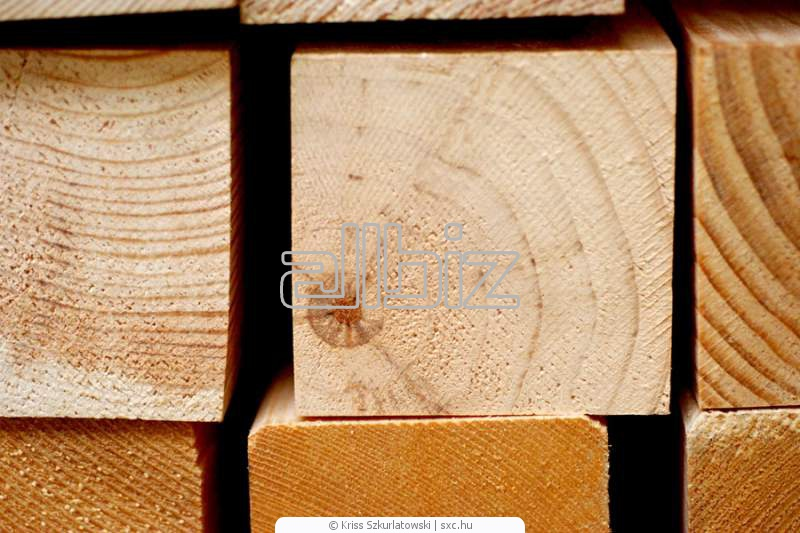 Брус деревянный, Брус свежепил и камерной сушки, деревянный клееный брус,