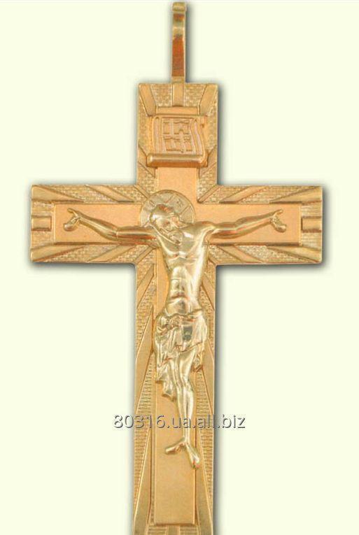 Крест с украшением HK15