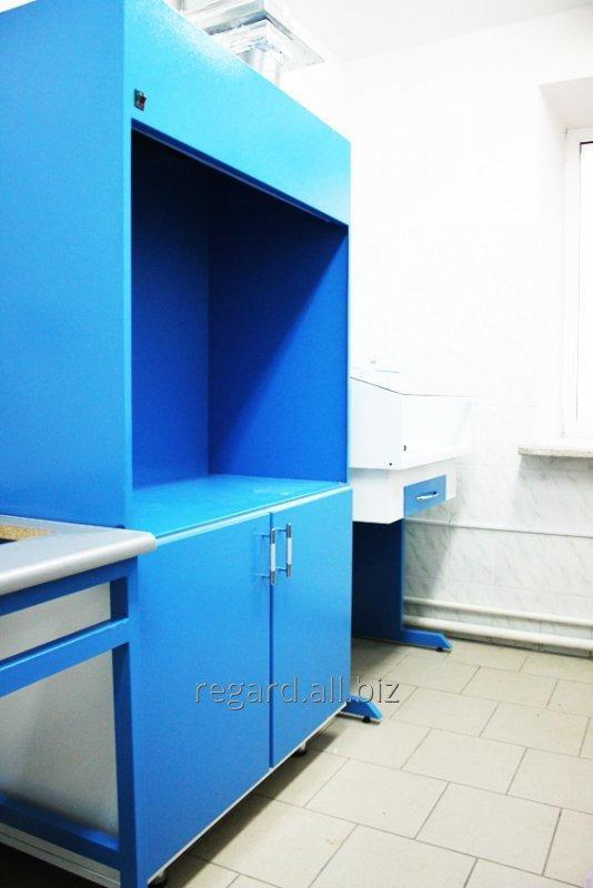 Шкаф втяжной лабораторный (металлическая мебель)