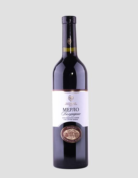 Купить Вино Мерло, 0,75 литров