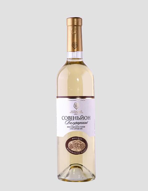 Купить Вино белое Совиньон сухое, 0,75 литров
