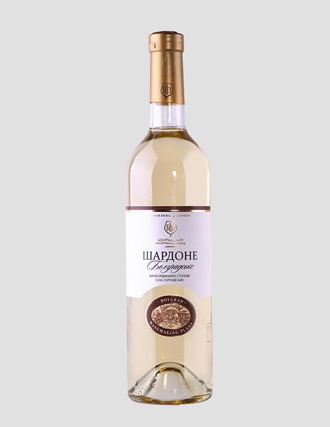 Купить Вино Шардоне белое сухое, 0,75 л
