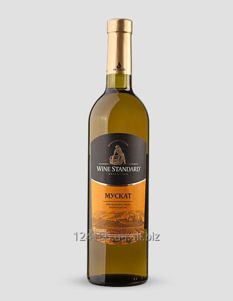 Купить Вино белое Мускат полусладкое