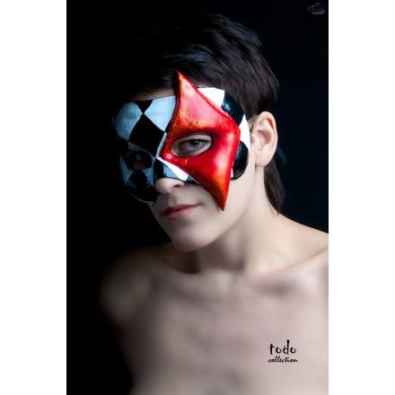 Как сделать мужскую карнавальную маску