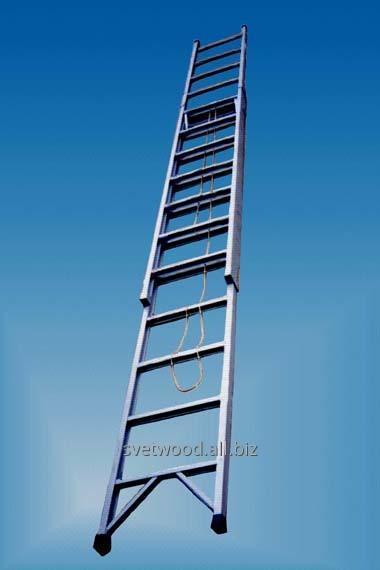 Лестницы раздвижные, стеклопластиковые изделия.