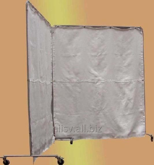 Buy Portable protective fabric screen to protect equipment and personnel from the spray of metal, sparks and heat radiation