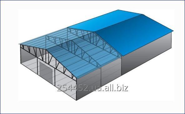 Ангар с вертикальными стенами