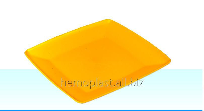 Тарелка квадратная 240х240 мм