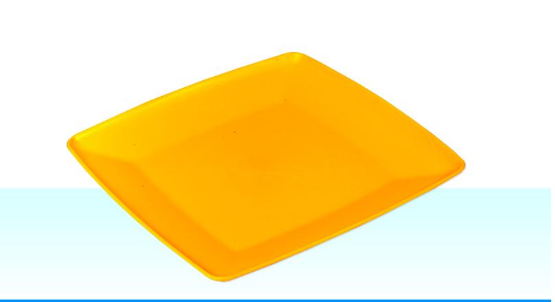 Тарелка квадратная 180х180
