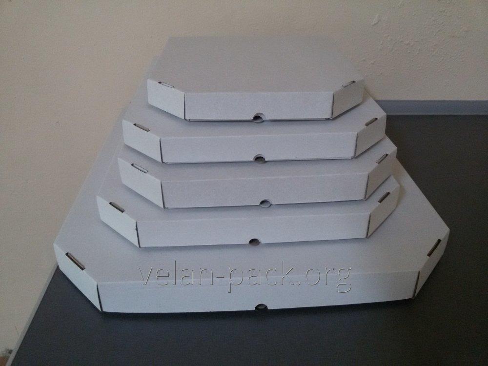 Коробки для ПИЦЦЫ (белого цвета) 320х320х35