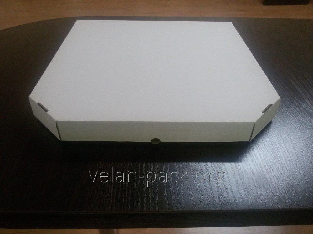 Коробки для ПИЦЦЫ (белого цвета) 350х350х35