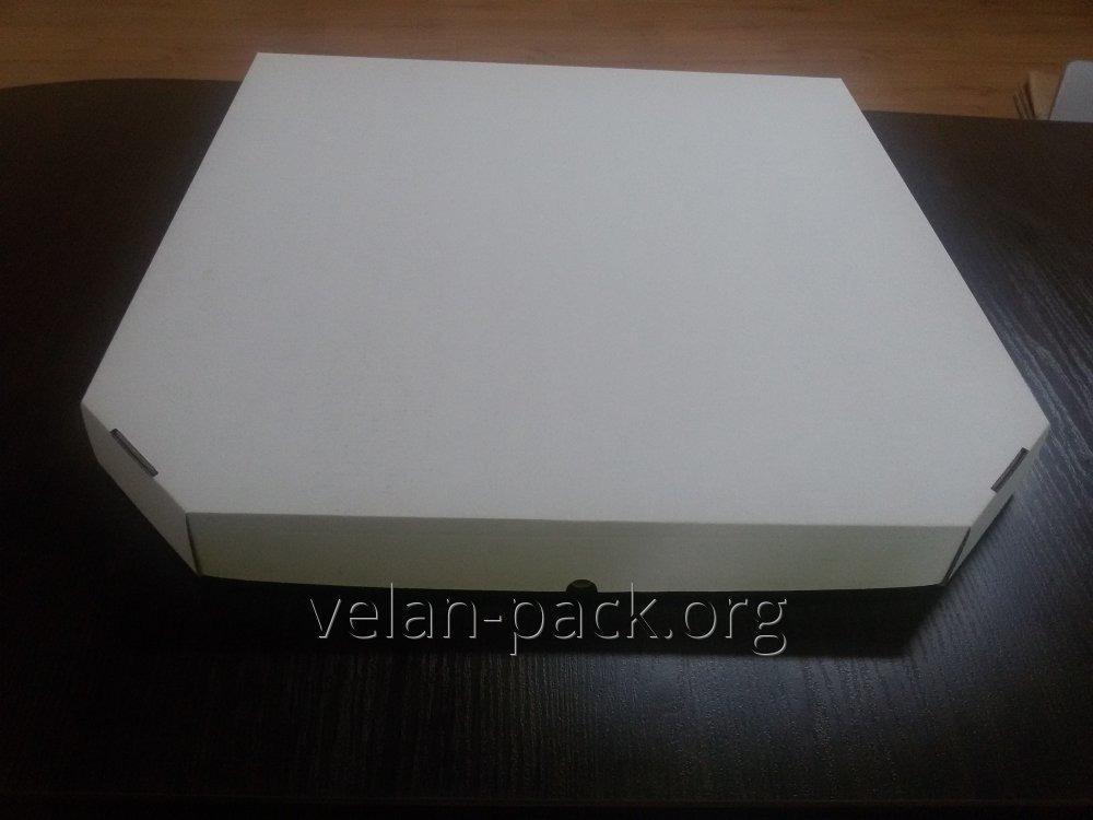 Коробки для ПИЦЦЫ (белого цвета) 400х400х35
