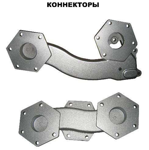 Коннекторы к Топливо-Раздаточным Колонкам Шельф 100