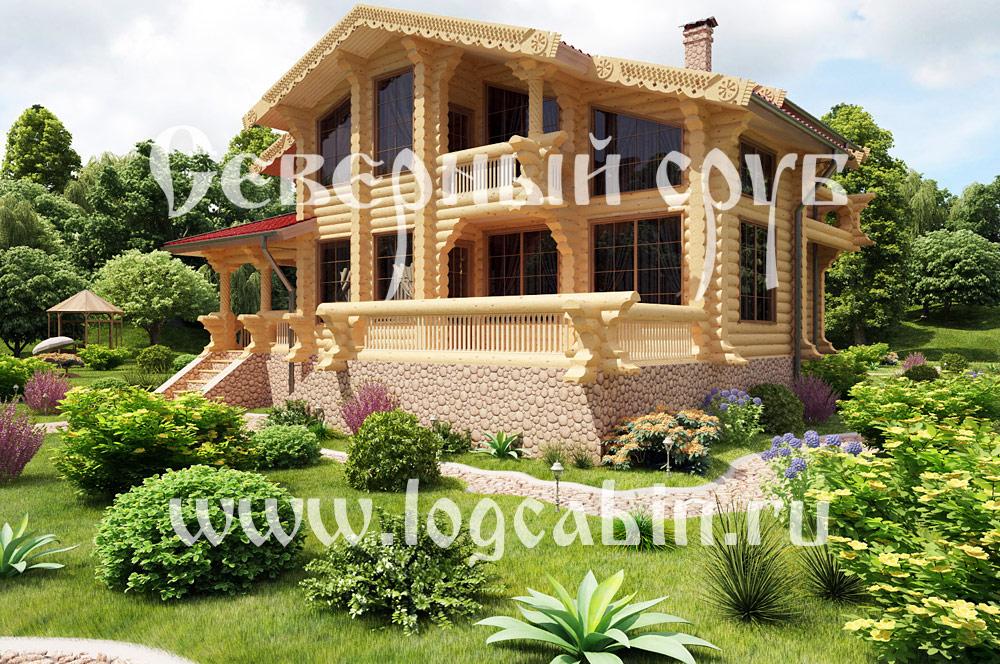 Дома срубы деревянные дом из