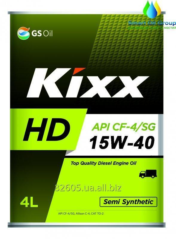 Engine oil for diesel engines (KIXX Dynamic CF-4) KIXX HD CF