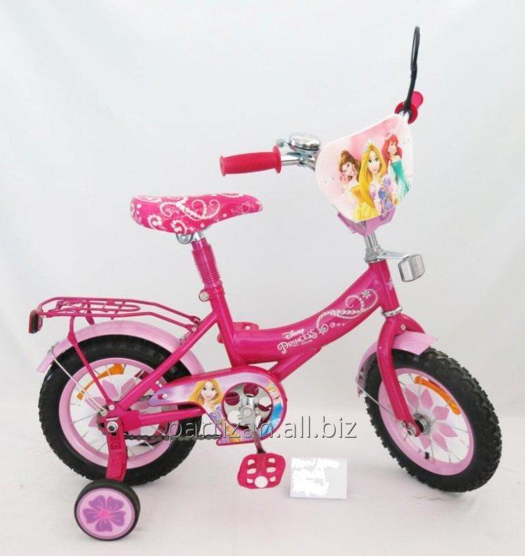 Велосипед 2-х колес 12 151222 1шт со звонком,зеркалом
