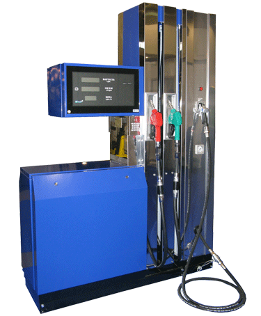 Комбинированные топливо-раздаточные колонки (ТРК) бензин+пропан ШЕЛЬФ 200-2 LPG для измерения объёма топлива (бензин, керосин и дизтопливо) вязкостью от 0,55 до 40 мм.кв/с (от 0,55 до 40 сСт), вычисления стоимости выданной дозы