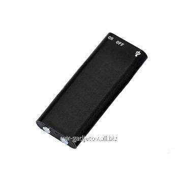 Миниатюрный металлический цифровой диктофон с 8 Gb памяти, функцией плеера и работой от аккумулятора до 8 часов , VR-500. Код товара: 01737