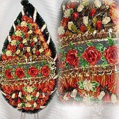 Венки, цветы на могилу 185Х95 СМ