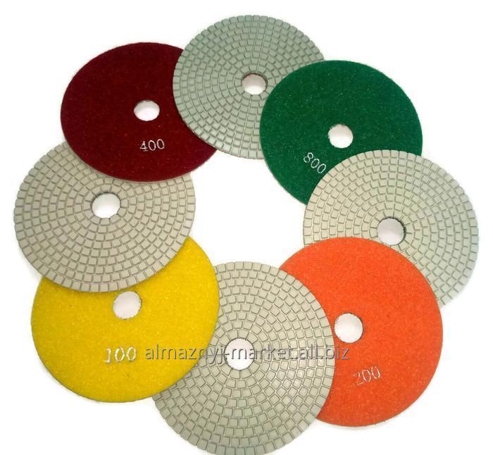 Buy Flexible grinding polishing wheel of 125 mm (turtle)