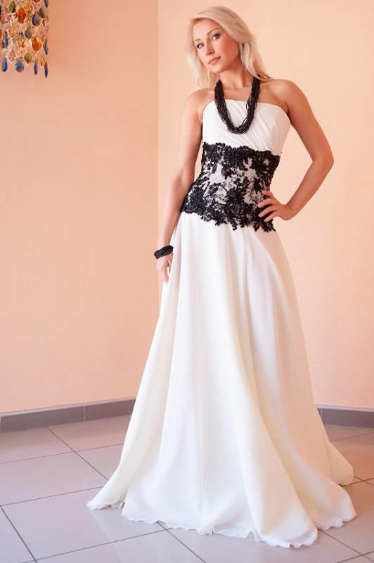 Вышивка на выпускное платье