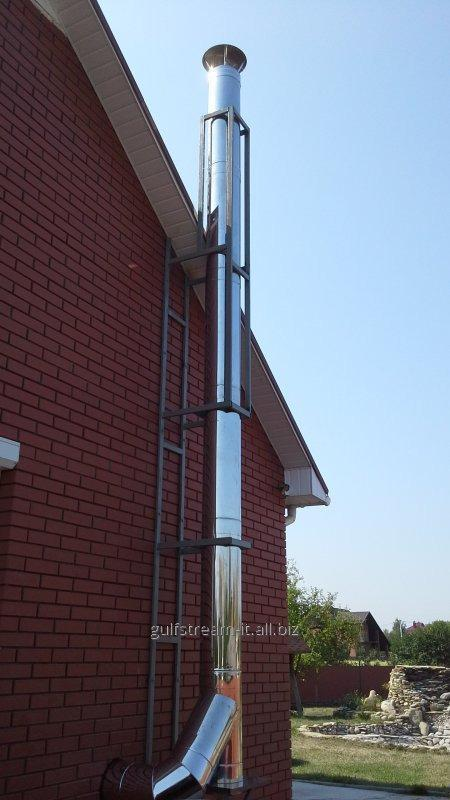 Flue 150 for coppers of 12-16 kW