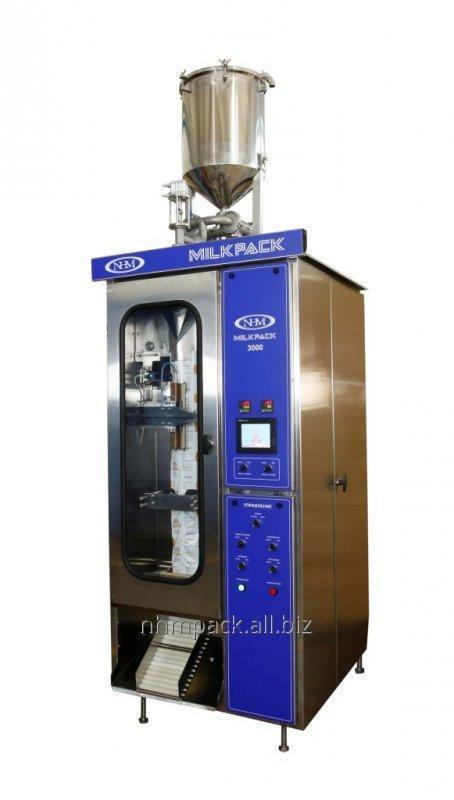 Купить Автоматическая машина МИЛКПАК 3000 для розлива молочной продукции в ПЭ пакет