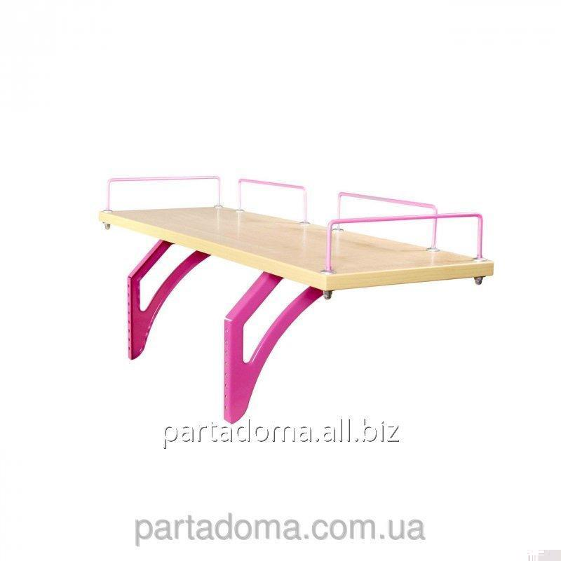 Buy The shelf back SUT.14.210 a maple / pink to Demy's school desks of SUT.14